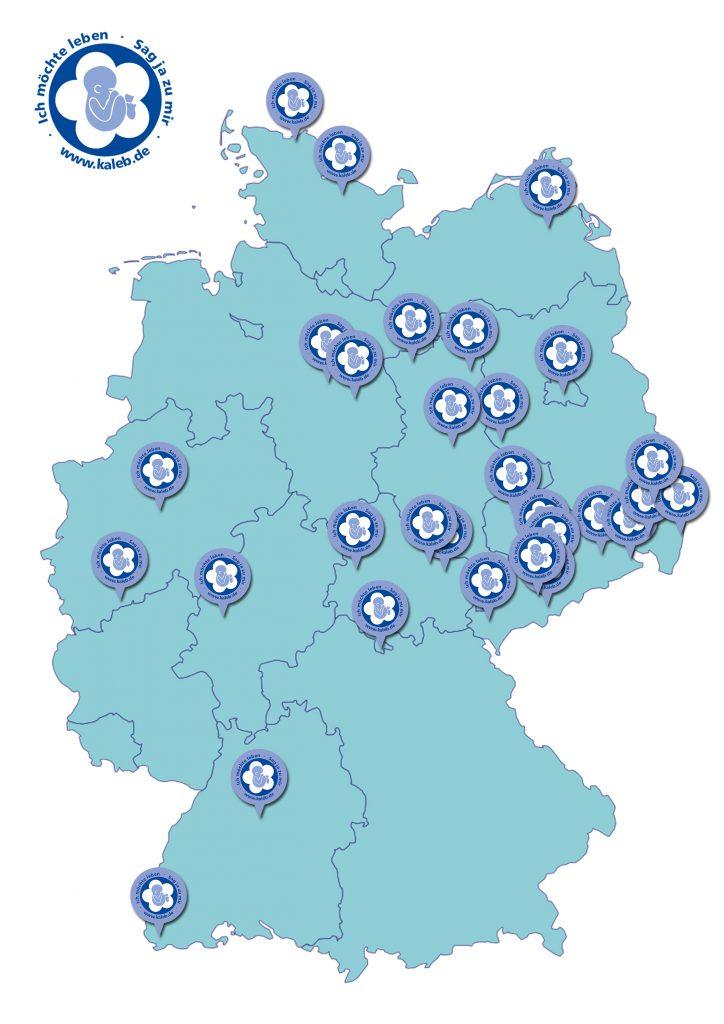 Kaleb Deutschlandkarte