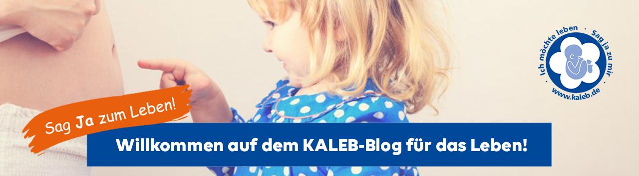 Sag Ja zum Leben! Der KALEB-Blog für das Leben