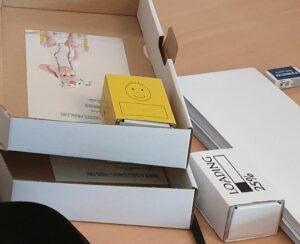 Babybettchen-Schachteln